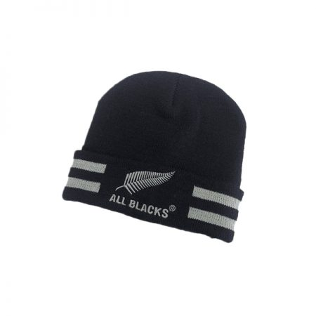 All Blacks Turn Up Beanie