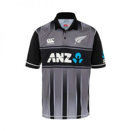 Black Caps Kid's Replica T20 Shirt