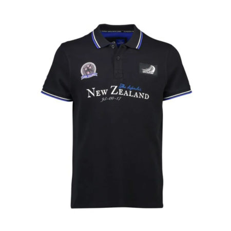 ETNZ Trophy Polo Black