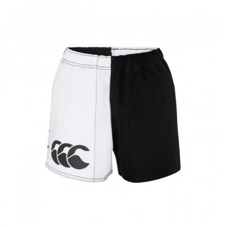 Harlequin Short Pocketed Black/White