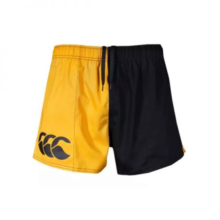 Harlequin Short Pocketed Gold/Black