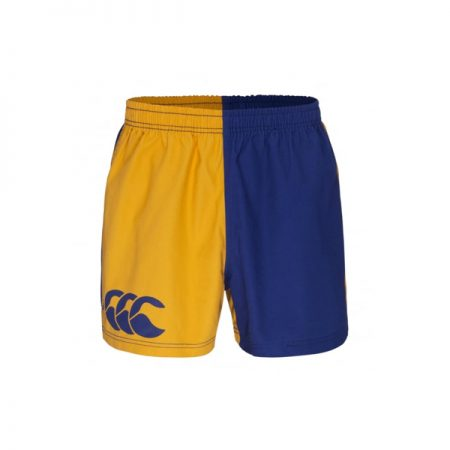 Harlequin Short Pocketed Gold/Royal