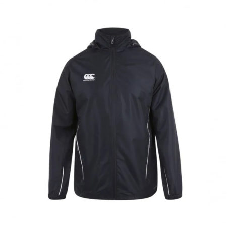 Team Full Zip Rain Jacket Black