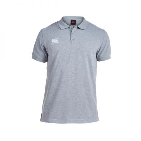 Waimak Polo Shirt Grey Marle