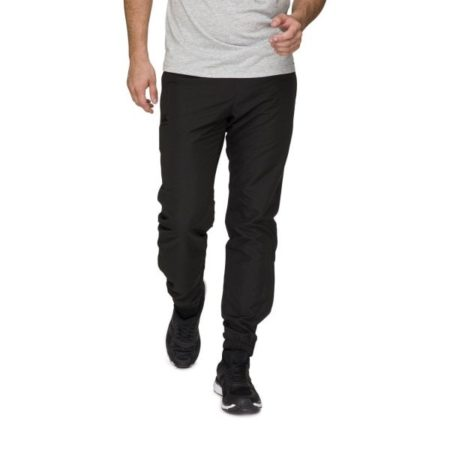 Tonal Tapered Cuff Trackpant Black