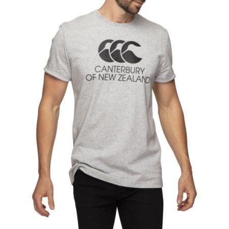 CCC Stadium Tee Shirt Grey Marle