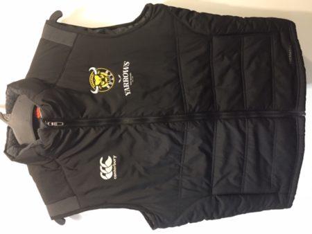 Taranaki Puffer Vest Black
