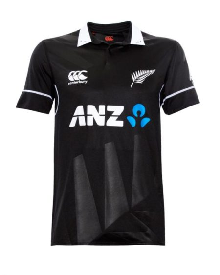 Black Caps Kid's Replica ODI Shirt