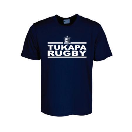 Tukapa Premiers Tee Navy