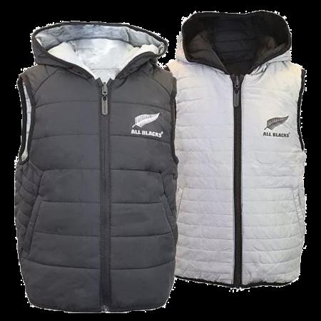All Blacks Kids Reversible Puffer Vest