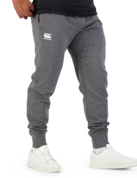 Tapered Fleece Trackpant Charcoal Marl