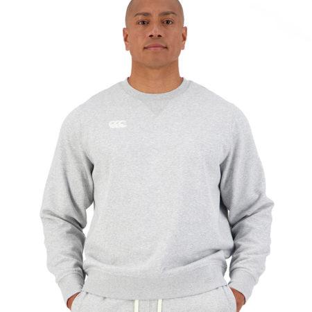 CCC Crew Sweatshirt Grey Marle