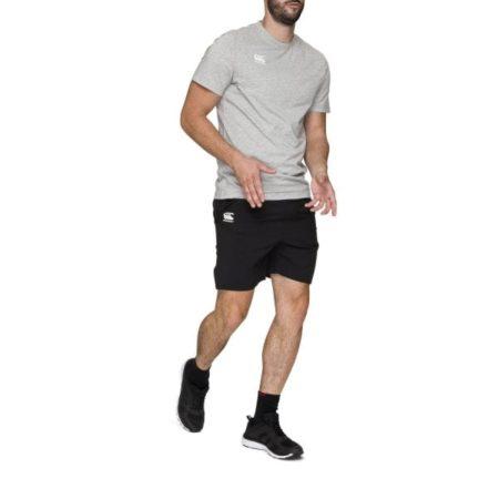 Woven Gym Short Black
